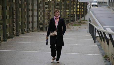 Ángeles Ribes (portaveu del grup de Cs).