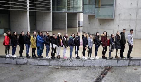 Una vintena de joves nascuts l'any 2000 van ser reunits per SEGRE aquesta setmana al Campus de Cappont.