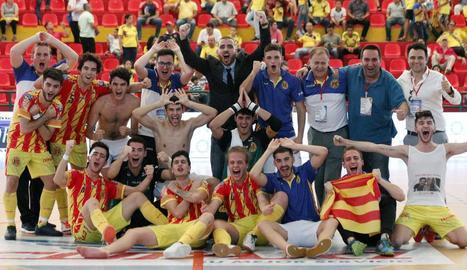 Un gol del lleidatà Melich situa Catalunya a les semifinals
