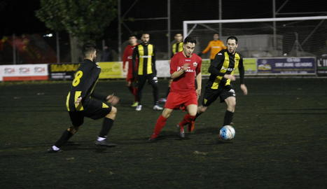 El Pardinyes i l'Alpicat van disputar un partit molt igualat.