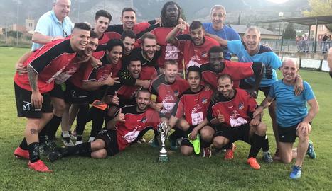 El Tremp va guanyar l'estiu passat la Copa Pirineus