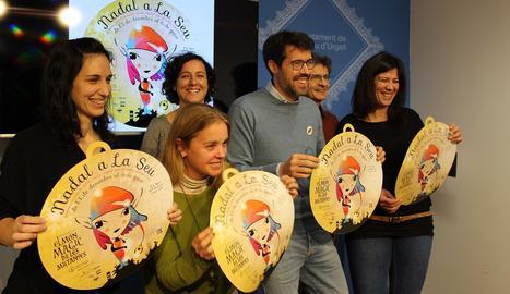 La presentació de la campanya nadalenca de la Seu d'Urgell.