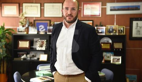 Marc Cerón serà nomenat demà president de l'associació