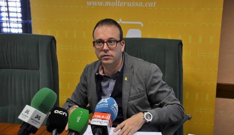L'alcalde de Mollerussa, Marc Solsona.