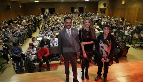 L'advocat escocès Aamer Anwar, ahir, a Maristes de Lleida
