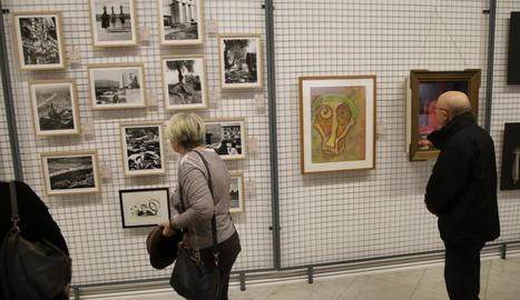 Les fotografies de Ton Sirera de 'Catalunya Visió' destaquen a l'exposició, oberta fins al 3 de març.