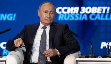 El president rus, Vladímir Putin, va defensar l'ús de la força contra els vaixells ucraïnesos.