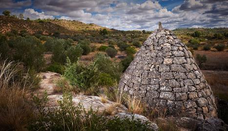 Aljub de pedra seca de Torrebesses.