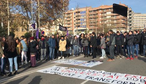 Jornada de protestas en Lleida