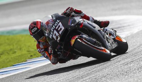 Marc Màrquez acomiada l'any amb el segon lloc a Jerez
