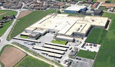Imagen aérea de archivo de las intalaciones del grupo cárnico en Miralcamp.