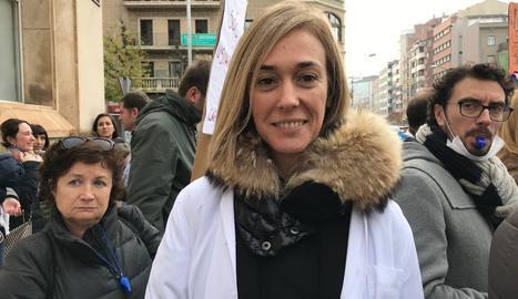 Pilar Vaqué. Metgessa al CAP Primer de Maig