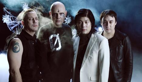 Foto promocional de The Smashing Pumpkins.