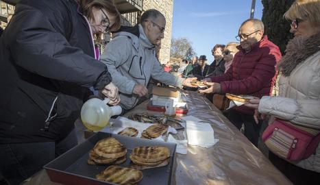 Jornada de portes obertes ahir a la cooperativa del Camp de Sant Fortunat de Castelldans amb motiu de la Fira de l'Oli Nou.