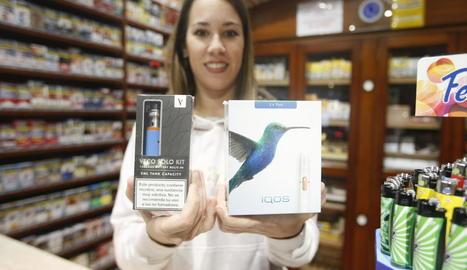 Els vaporitzadors ja poden adquirir-se als estancs de Lleida.