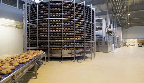 Imatge de les instal·lacions de la planta de pa a la Closa.