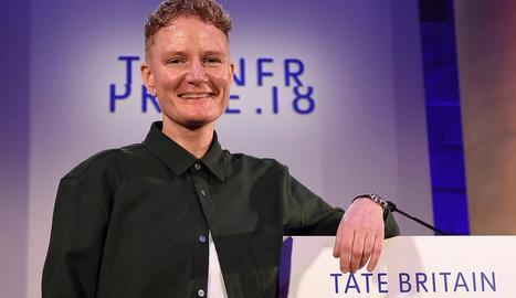 Charlotte Prodger, guanyadora del premi Turner 2018.