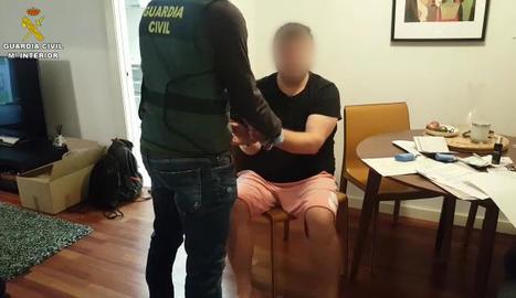 Arrest d'un dels membres del Clan dels Balcans.