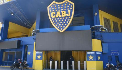 Van evacuar l'estadi de Boca per una amenaça de bomba.
