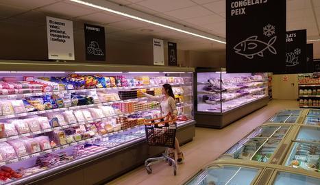 Imatge de les instal·lacions d'un dels supermercats.