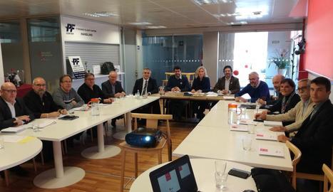 La reunió de la taula estratègica de l'aeroport de la Seu.