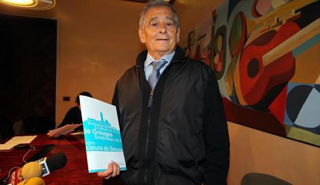 Josep Giné, en una imatge d'arxiu.