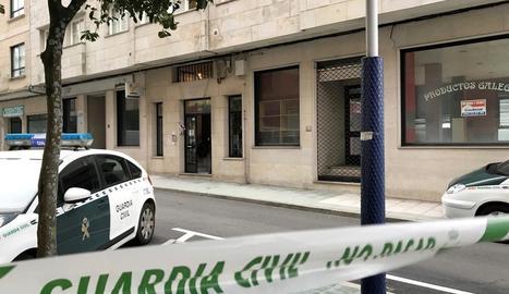 Imatge de l'habitatge d'O Grove on van tenir lloc els fets.