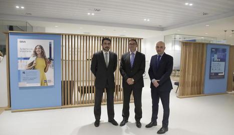 BBVA inaugura a Lleida el nou centre de banca de clients