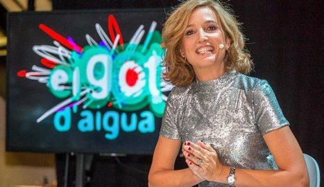 Samantha Vall, la presentadora.