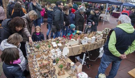 Bellpuig es bolca en el mercat nadalenc