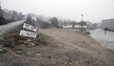 Sant Guim de la Plana reformarà la zona esportiva.