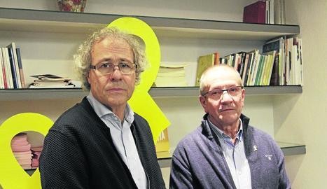 Imatge d'alguns dels assistents a la reunió del PDeCAT que es va celebrar ahir a Lleida.