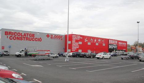 Imatge d'arxiu de la botiga de Brico Depôt a Lleida.