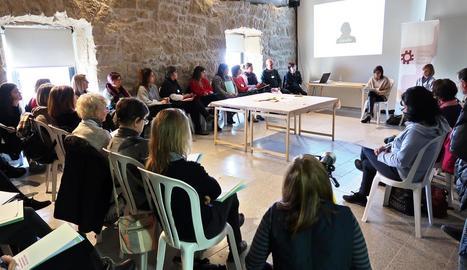La jornada de la constitució de la Taula d'Inclusió comarcal.