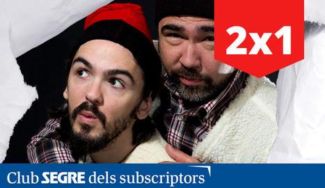 Els actors protagonistes de 'Els Pastorets' de Talia Teatre.