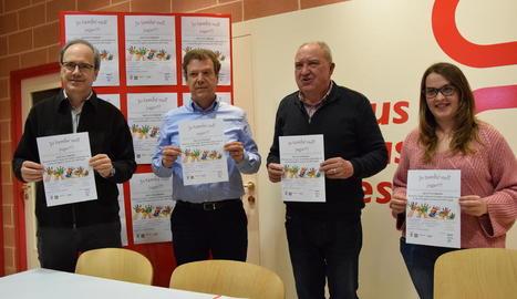 La quarta edició de la campanya de recollida de joguets organitzada per Càritas Urgell comença avui.