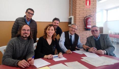 La firma va tenir lloc el dia 11, per Sant Pau, patró de la localitat.