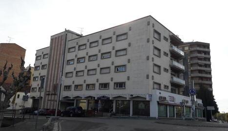 Edifici del Parador de Balaguer en què s'obrirà l'hotel en els propers tres mesos.