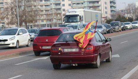 Marxa lenta a l'A-2 en direcció Lleida