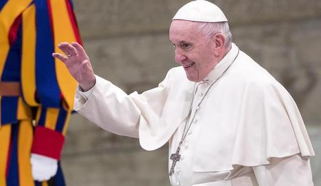 Imatge d'arxiu del papa Francesc.