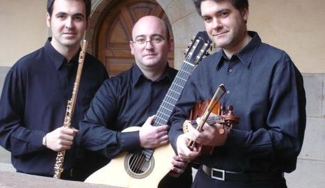 El Trio Palatino actuarà avui a l'església de Santa Maria d'Arties.