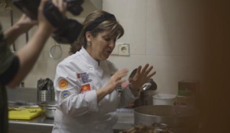 Carme Mora, del restaurant Els Fogons de la Carme de Cervià.