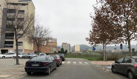 El carrer Terol de Fraga.