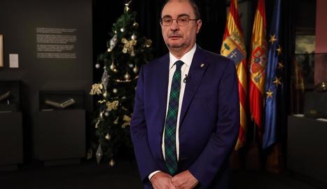 El president d'Aragó, Javier Lambán.