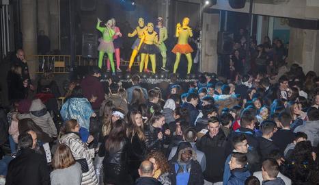 Imatge de la festa de Cap d'Any a Tàrrega.