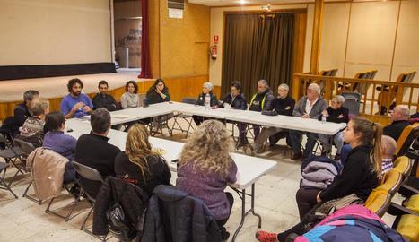 La primera assemblea ciutadana, que es va celebrar divendres, va reunir una vintena de persones.
