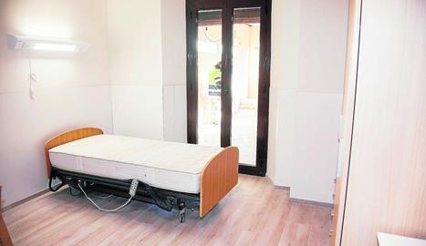 La primera planta de la residència Mas Vell d'Agramunt.