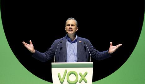 El secretari general de Vox, Javier Ortega Smith.