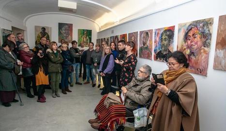Pintures de Joan Moragas al Centre de l'Oli, a la Granadella