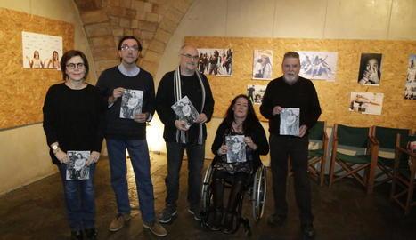 Presentació de l'últim número de la revista 'Plec' al Cafè del Teatre